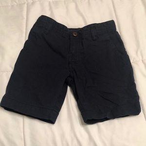 Boy size 5 Dark Blue Flat Front Shorts